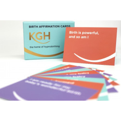 KGHypnobirthing Birth Affirmation Cards