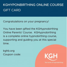KGHypnobirthing Parents' Online Course Gift Voucher