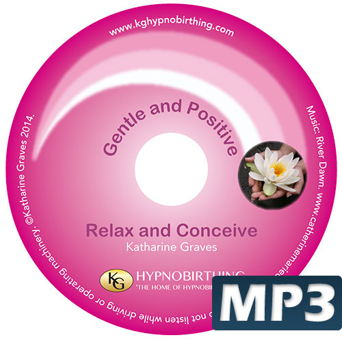 Relax and Conceive MP3 - KG Hypnobirthing