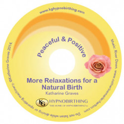 More Relaxations for a Natural Birth CD/MP3