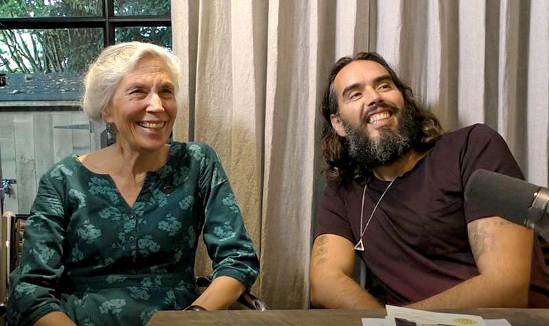 Katharine Graves Russell Brand interview